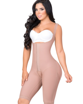 LONG BODYSHAPER WITH WIDE STRAPS